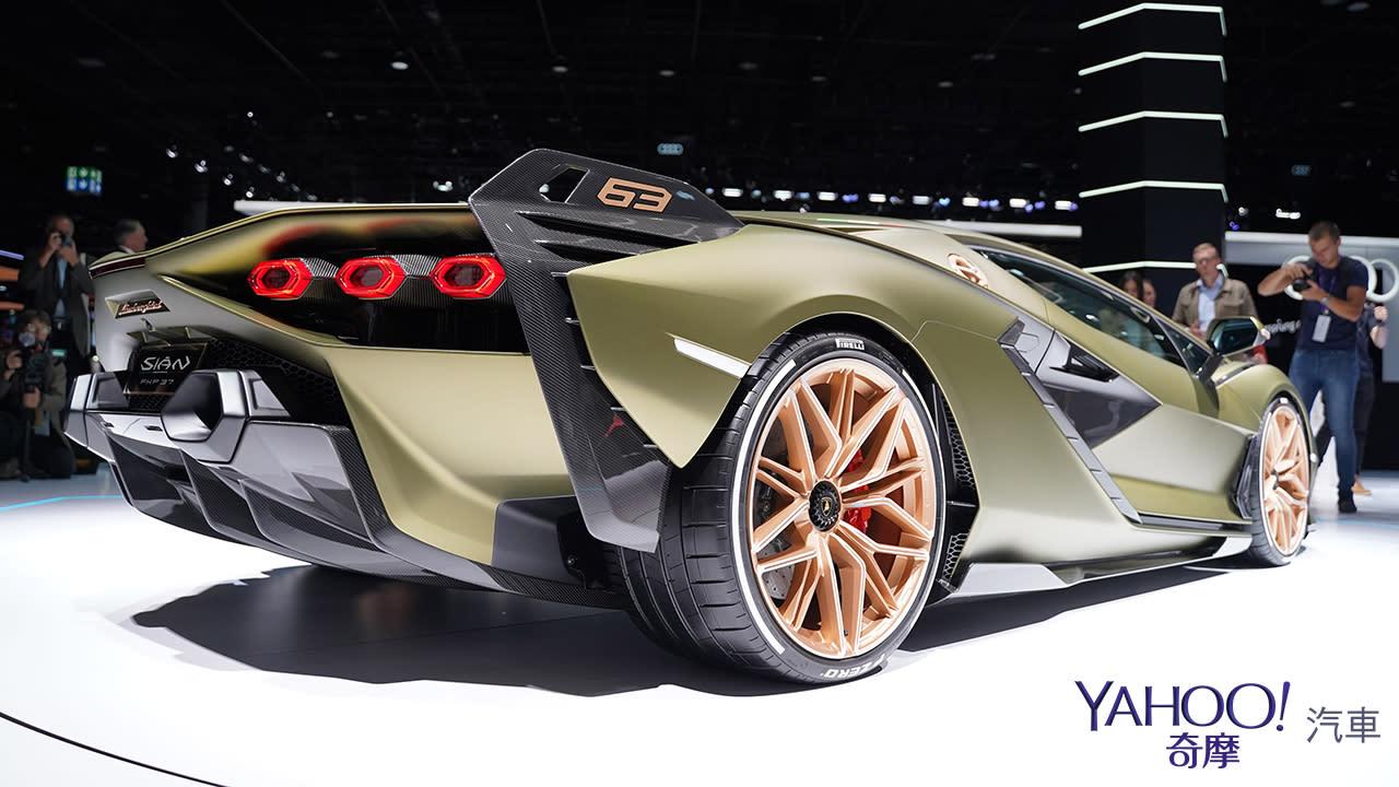 【2019法蘭克福車展】限量63部的終極一閃!Lamborghini Sián榮登油電王者之座 - 9