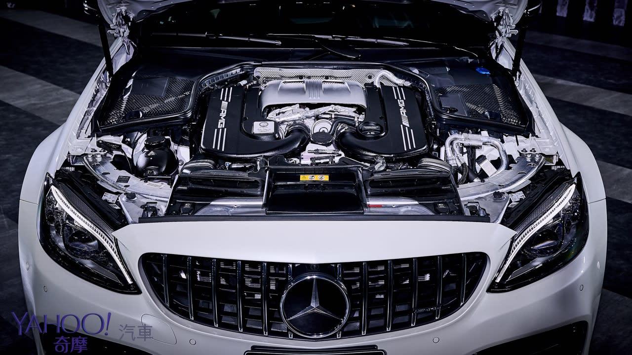 沒有不一樣、只是很不一樣!2019年式小改款Mercedes-AMG C63系列上市497萬起! - 17