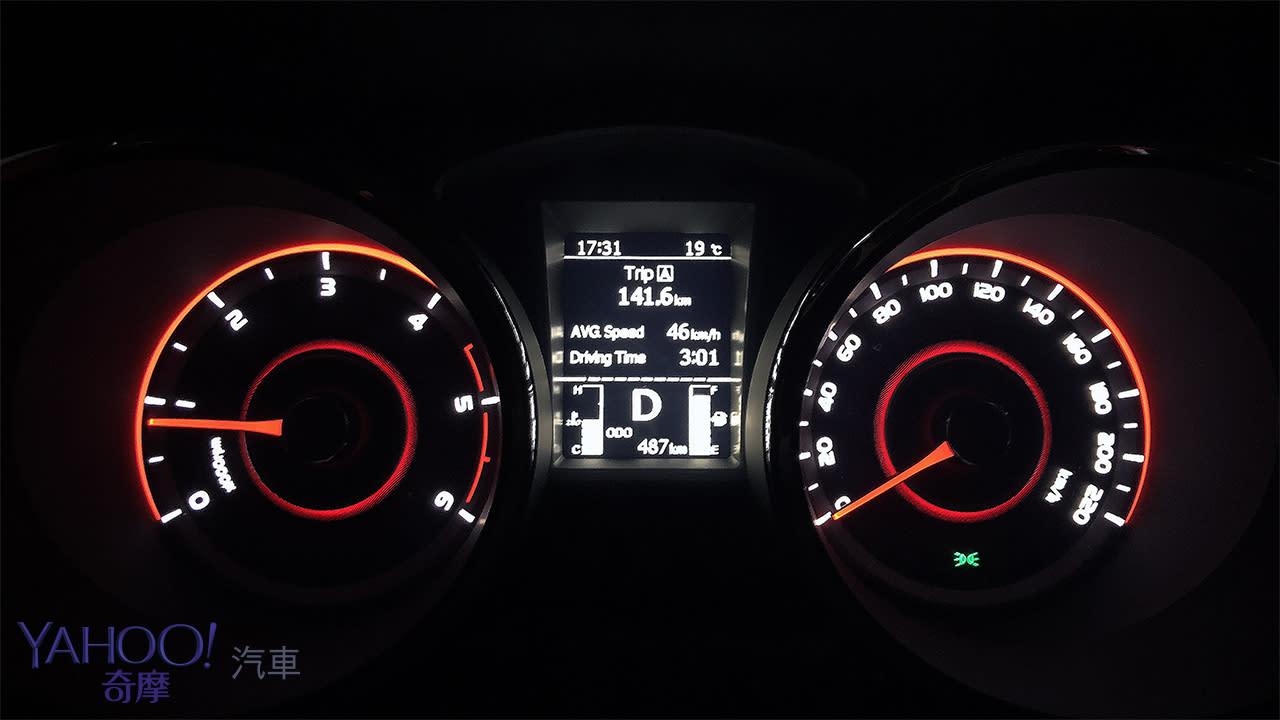 柴油威能正常發揮!SsangYong Tivoli 1.6豪華型141.6km油耗實測 - 10