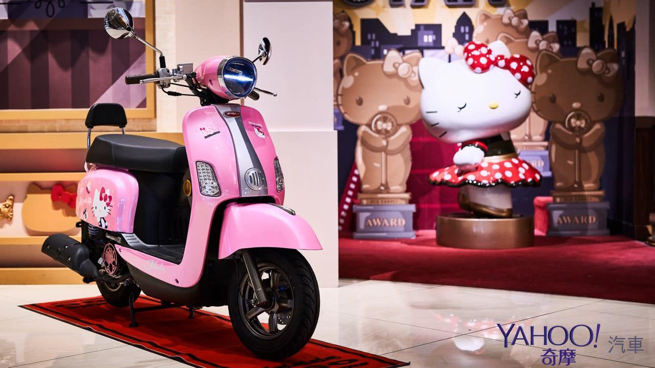 限量1520台的粉爆少女心!PGO J-BuBu Hello Kitty 45週年聯名特仕版正式上市! - 10