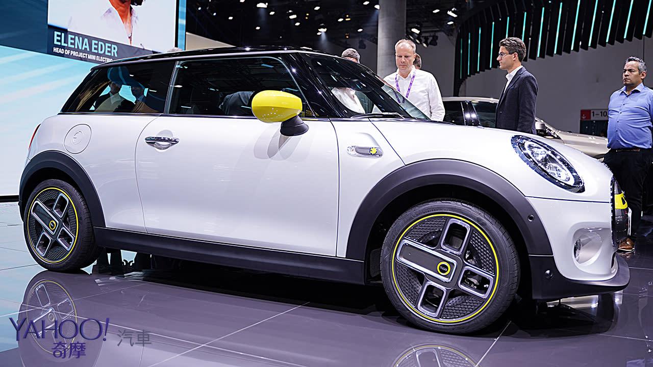 【2019法蘭克福車展】行駛里程達270公里!2020 Mini Cooper SE準備好在歐洲帶電飆速! - 10