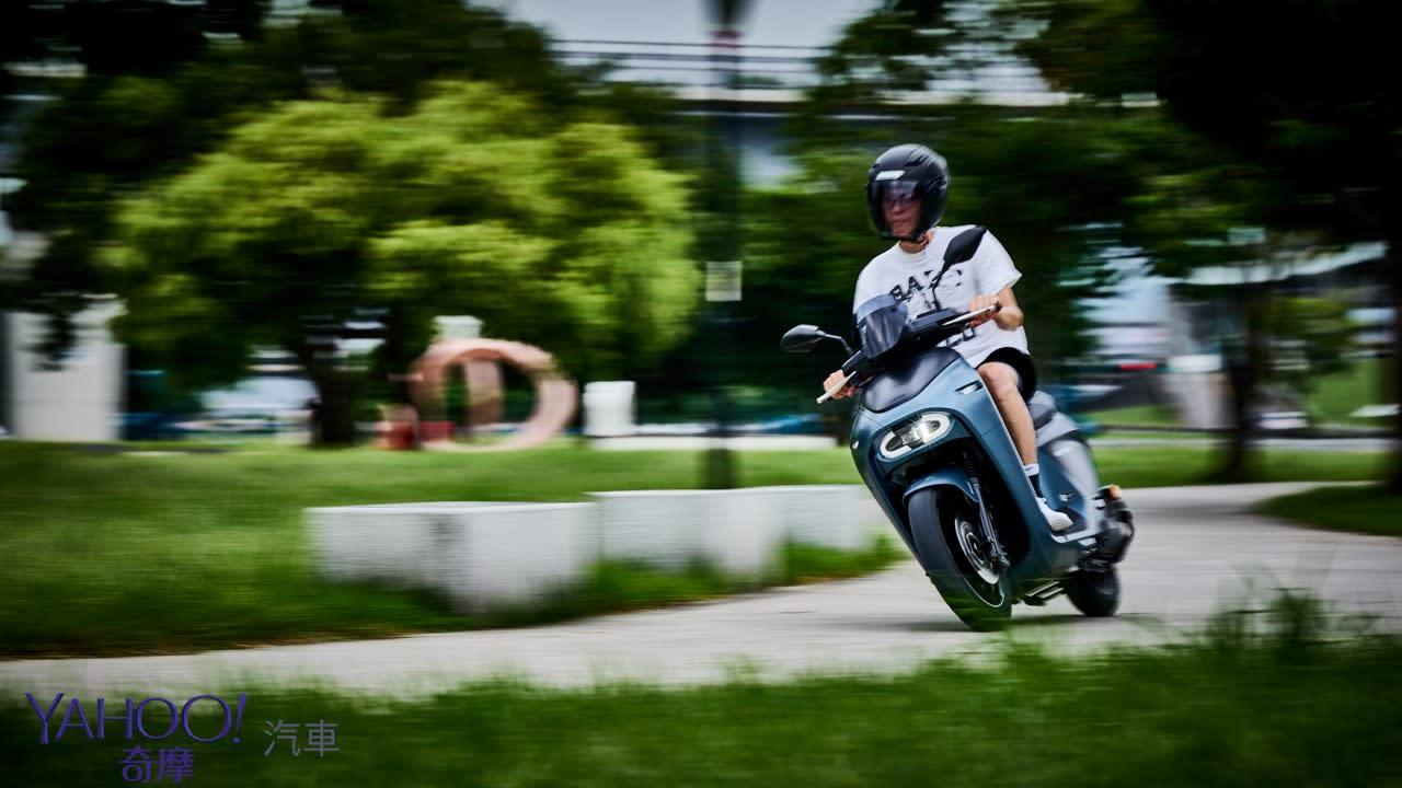真的、我們不一樣!Yamaha換電式電動機車EC-05新北城郊試駕解析! - 21