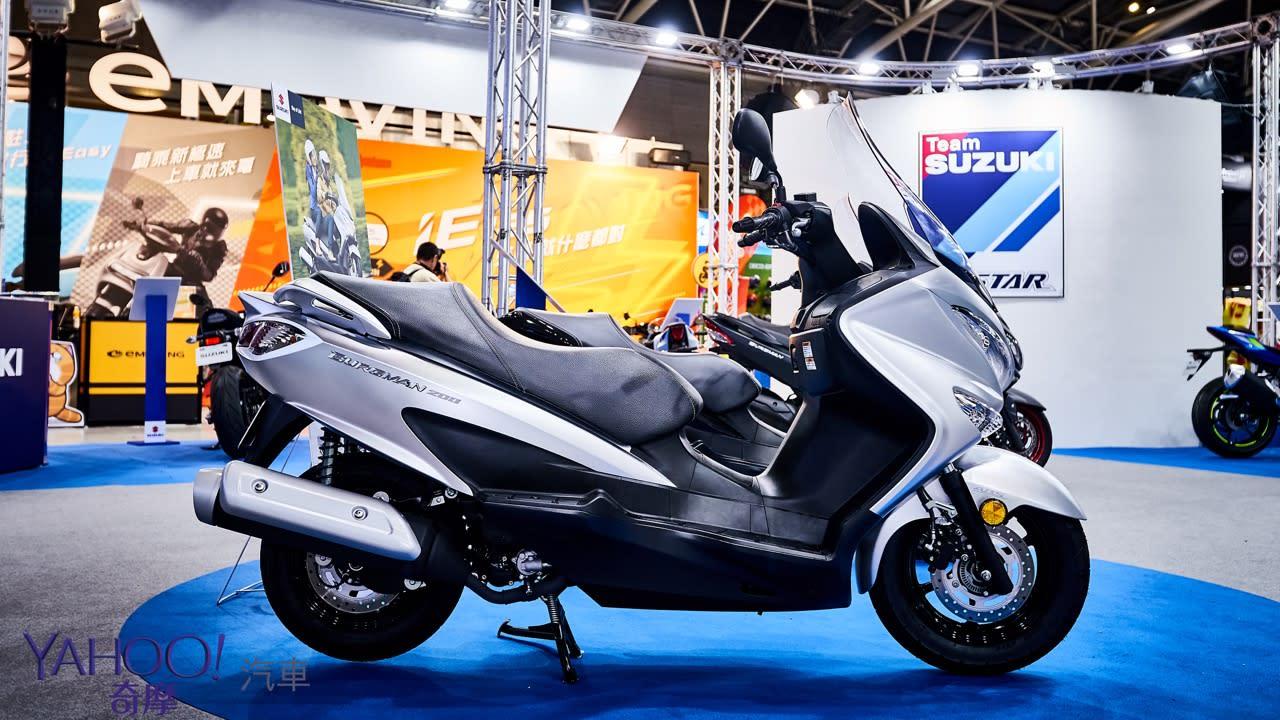 【2019國際重型機車展】復活的名刀!Suzuki Katana正式發表暨Burgman 200上市 - 11