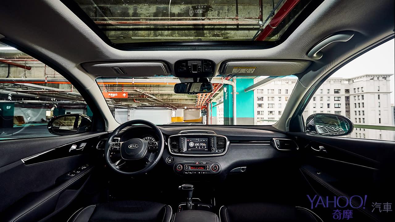一小匙動感和適量的率性 2019 KIA Sorento GT-Line試駕 - 9