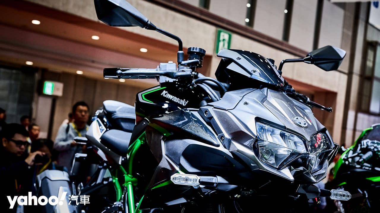 【東京車展】街車巨獸降臨!Kawasaki機械增壓新成員Z H2正式亮相! - 8