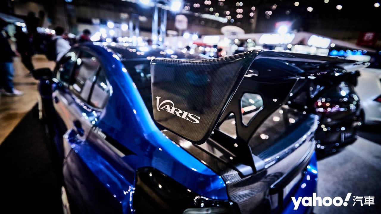 【東京改裝車展】裝了真的跑得快!Subaru誇張化寬體戰駒VARIS × ORIGINALRUNDUCE WRX辛辣上陣! - 6