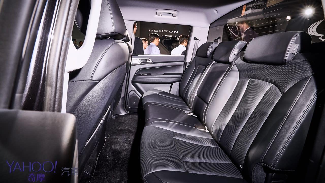 越野韓風激烈襲來!SsangYong雙龍汽車豪華7人SUV Rexton、PickUp Rexton Sports正式發表! - 16