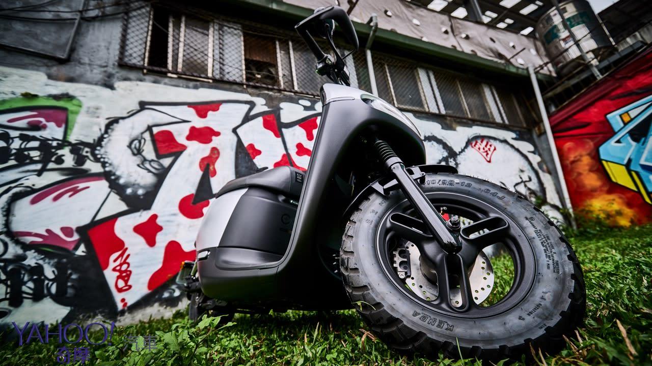 絕不只是換個輪胎那麼簡單!城市越野風Gogoro 2 Rumbler都會試駕體驗 - 15