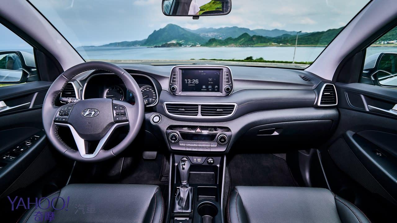 德不德系不是重點、夠安全才是王道!Hyundai小改款Tucson 1.6尊爵版基隆試駕 - 7