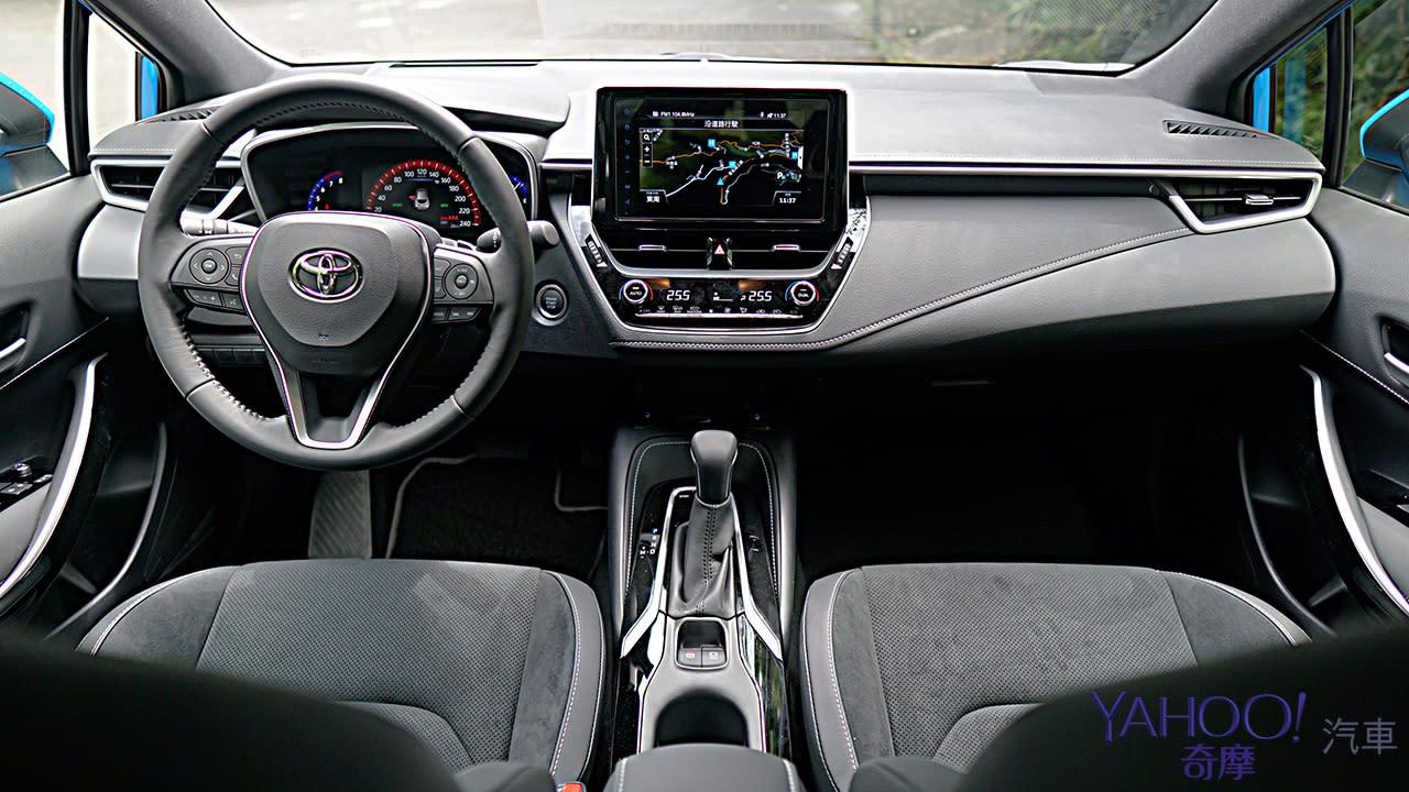 動感依舊、安全再強化!2020 Toyota Auris城郊試駕 - 6