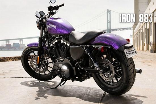 Harley-Davidson_Sportster_883 Iron