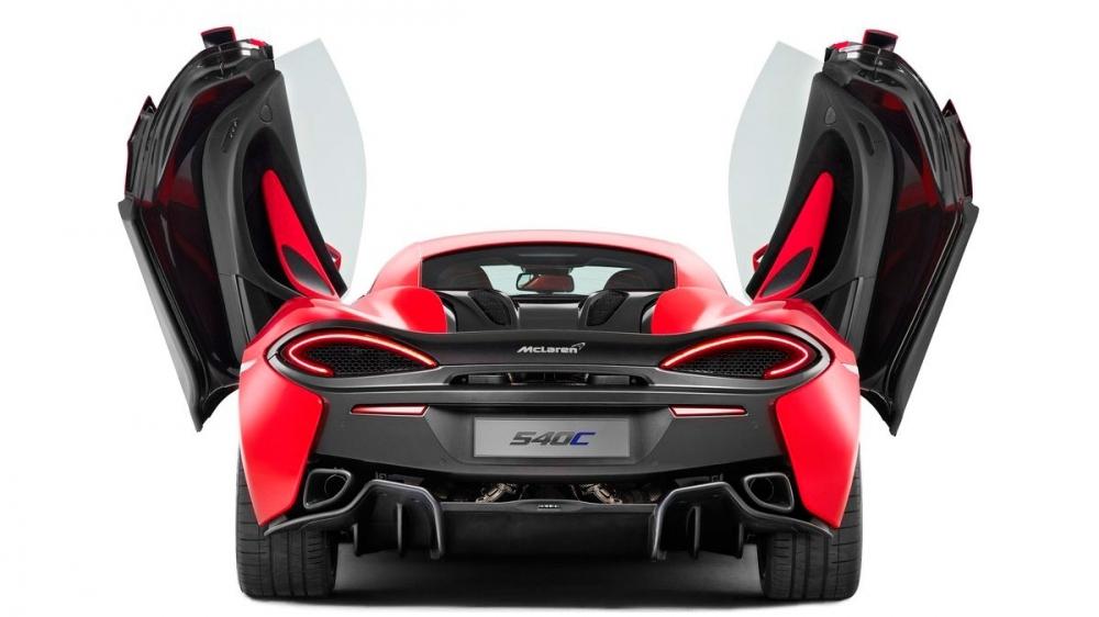 2019 McLaren 540 C V8