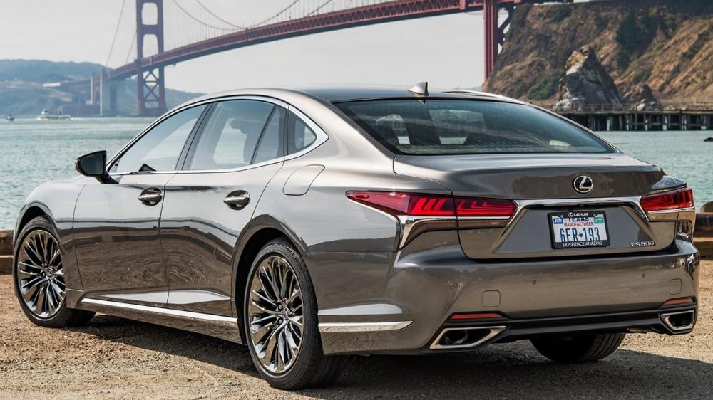 2019 Lexus LS 500旗艦版