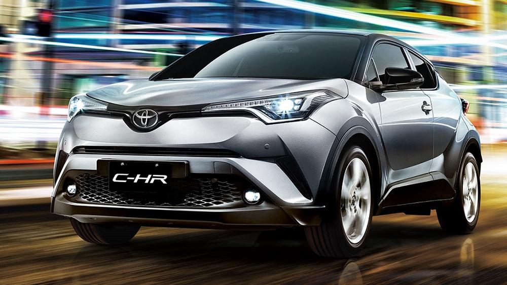 2019 Toyota C-HR 尊爵AWD