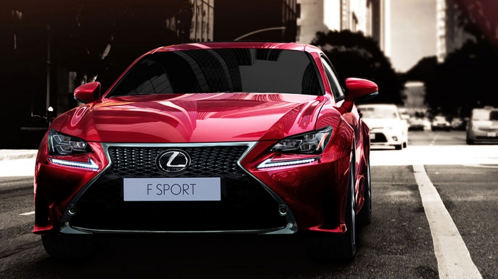 Lexus_RC_300h F Sport NAVI版