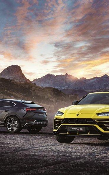 Lamborghini Urus 最狂SUV登場