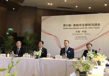 一肩扛「旗」,Giles Taylor正式加入中國一汽集團