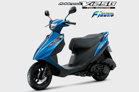 2009 Suzuki Address V125 G