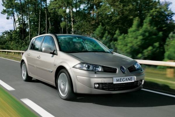 2008 Renault Megane Hatch 2