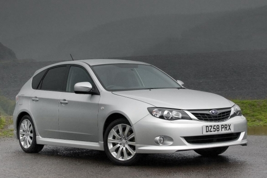 2011 Subaru Impreza 5D 2.0 RS