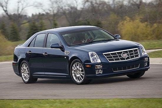2010 Cadillac STS 3.6 SIDI Elegance