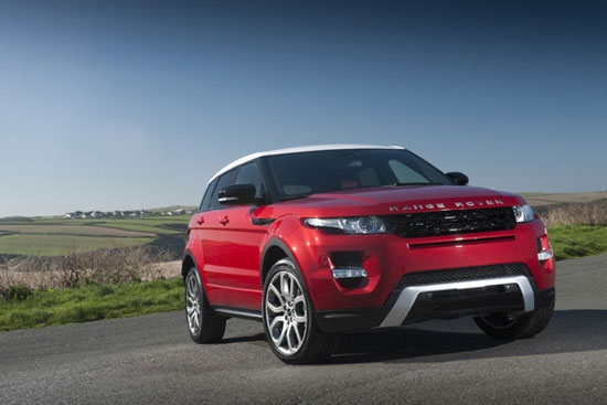 2013 Land Rover Range Rover Evoque 5D Dynamic+