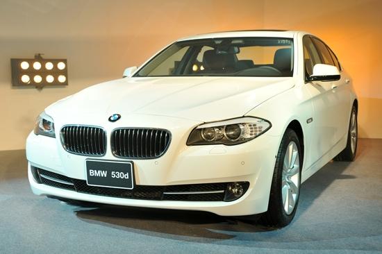 2012 BMW 5-Series Sedan