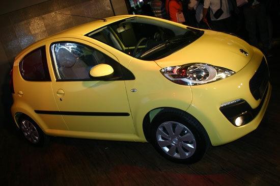 2013 Peugeot 107 左岸魅力版