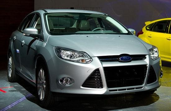 2013 Ford Focus 4D 1.6汽油豪華型