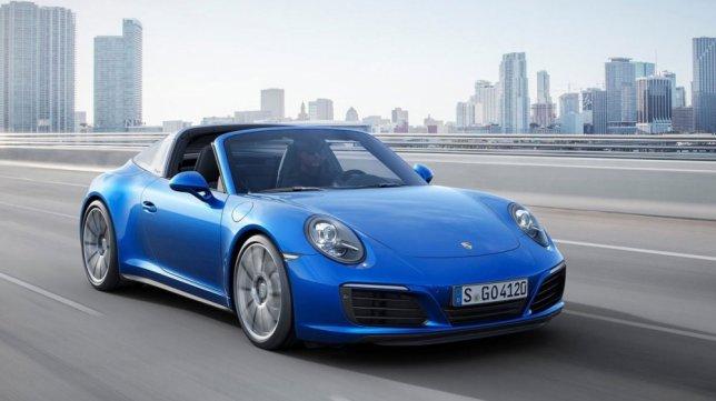 2017 Porsche 911 Targa