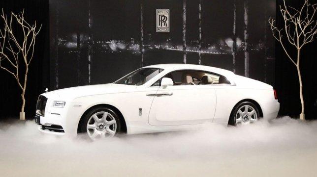 2021 Rolls-Royce Wraith 6.6 V12