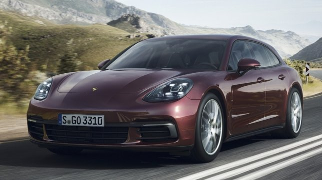 2018 Porsche Panamera Sport Turismo 4