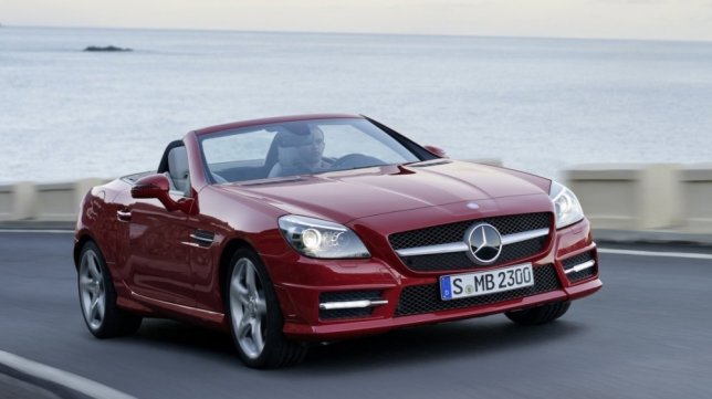 2015 M-Benz SLK-Class SLK350 BlueEFFICIENCY