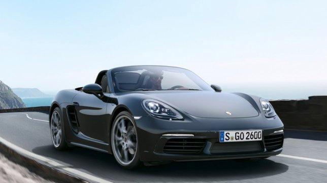 2017 Porsche Boxster 2.0
