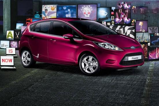 2011 Ford Fiesta 1.4時尚版(鈦銀紫)