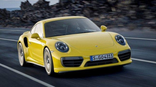 2018 Porsche 911 Turbo