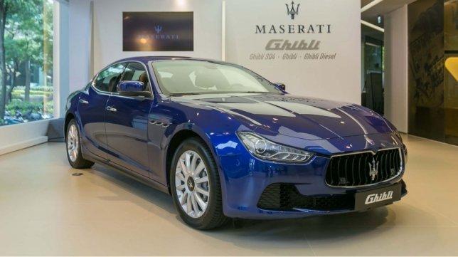 2014 Maserati Ghibli Diesel