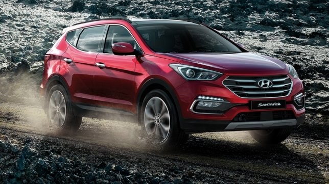 2017 Hyundai Santa Fe(NEW) 2.2貴族款