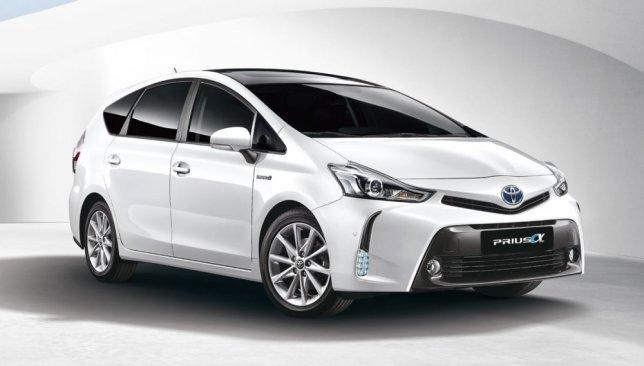 2017 Toyota Prius Alpha