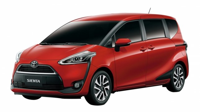 2017 Toyota Sienta 5人座豪華+