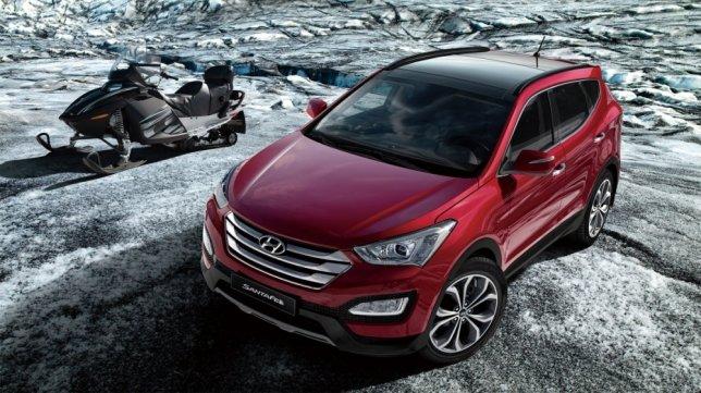 2015 Hyundai Santa Fe 2.2尊爵款
