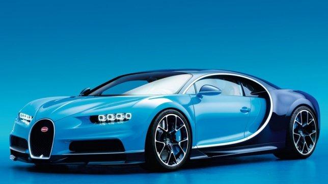 2020 Bugatti Chiron W16