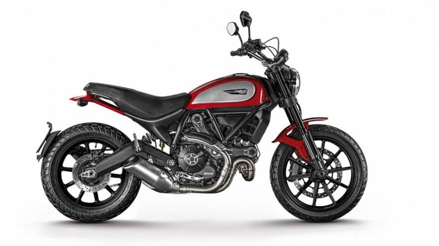 2017 Ducati Scrambler Icon Red