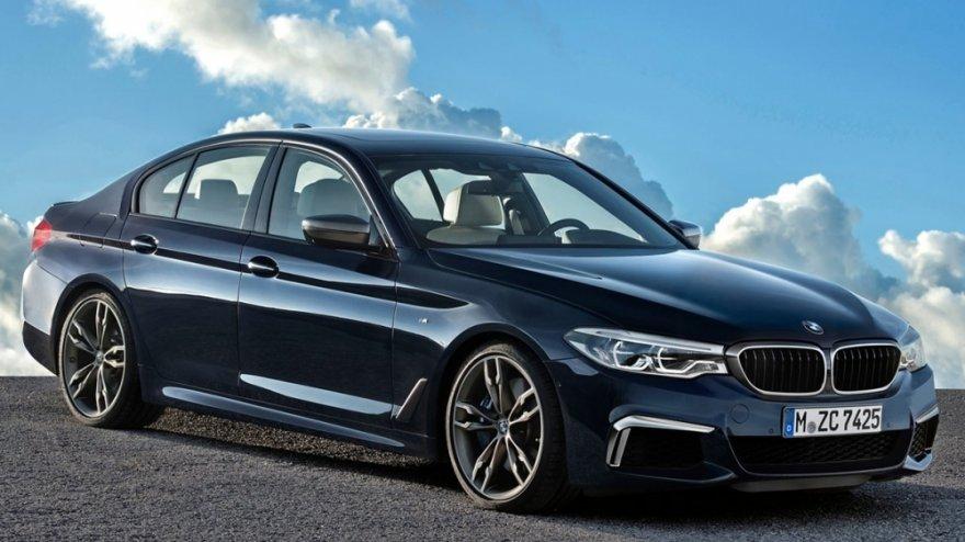 2018 BMW 5-Series Sedan M550i xDrive