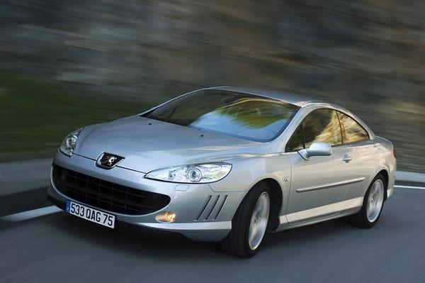 2008 Peugeot 407 Coupe 2.7 V6 HDi