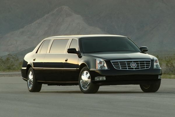 2009 Cadillac DTS Limo