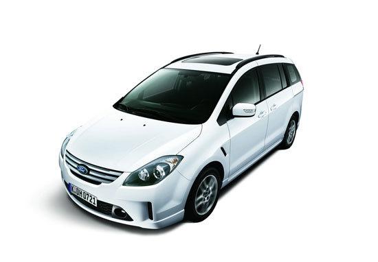 2010 Ford i-Max Ghia七人座
