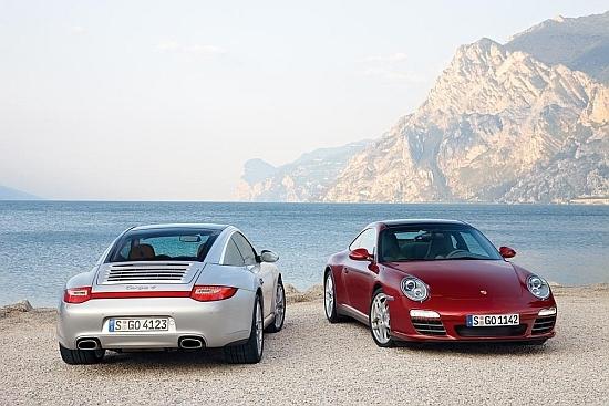 2010 Porsche 911 Targa