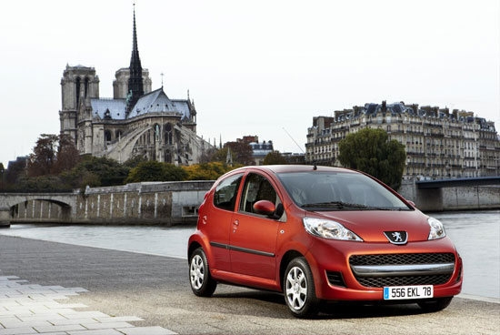 2012 Peugeot 107 左岸魅力版