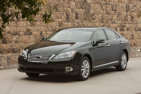 2012 Lexus ES 350 豪華版